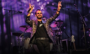 Read Ringo Starr and His All Starr Band at Pier 17