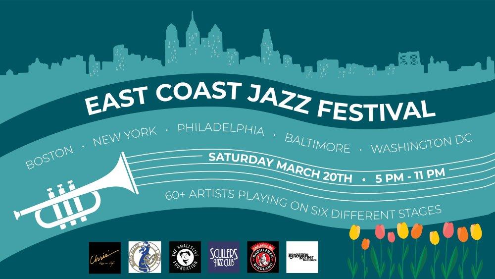 Six Legendary Jazz Clubs Host First-Ever Multi-City East Coast Jazz Festival, March 20th!