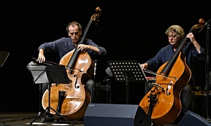 Jazz article: Paolo Damiani/Daniele Roccato Bottesini Legacy  at San Domenico Theatre Bottesini Reloaded Festival Crema