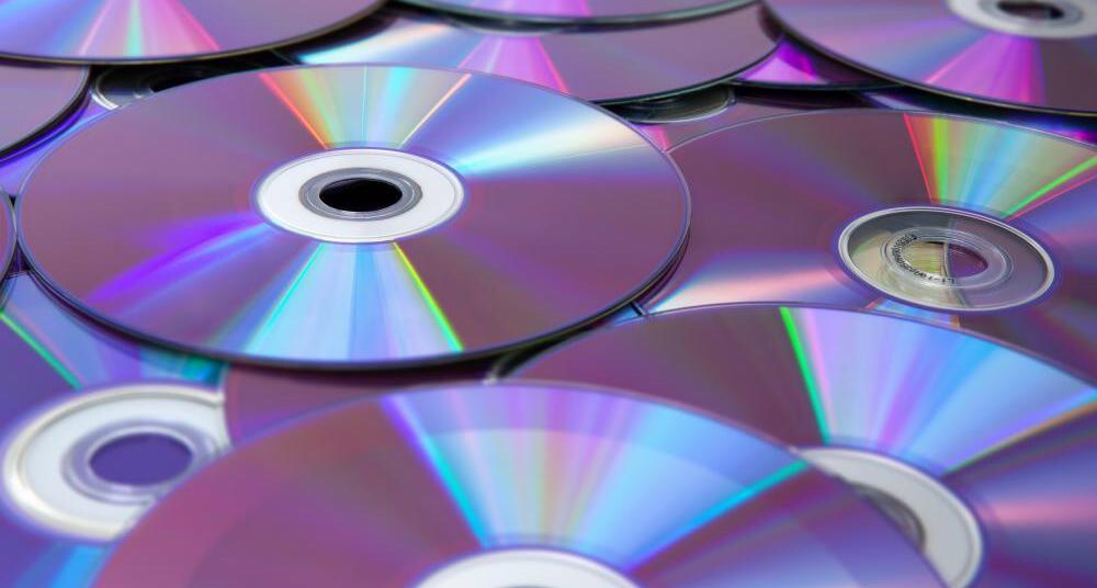 I CD come piccoli oggetti d'arte