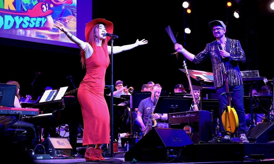 Charles Rosen's 8-Bit Big Band with special guest Grace Kelly merges video game themes with jazz orchestra