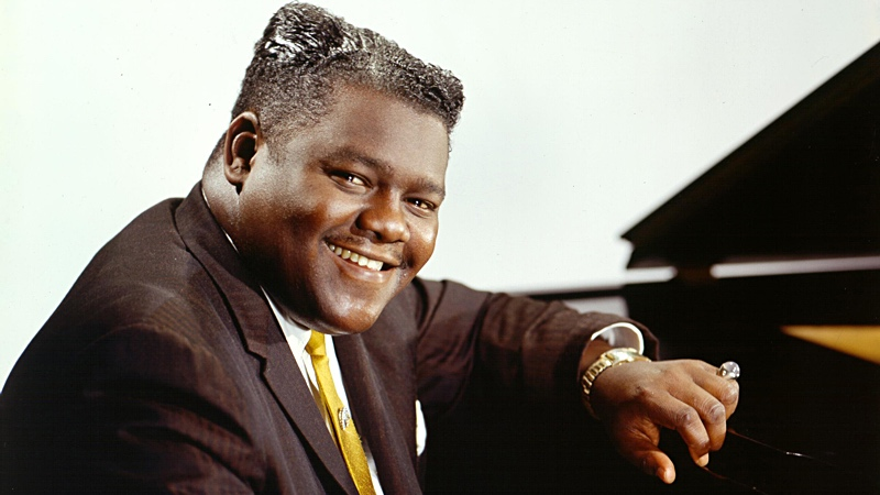 "Antoine Dominique ""Fats"" Domino Jr.:  February 26, 1928-October 24, 2017"