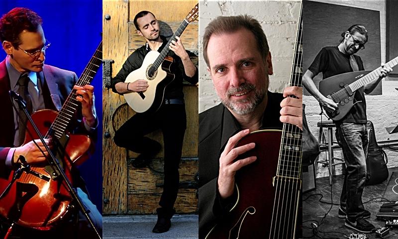 Steve Herberman,  Hristo Vitchev, Rick Stone and Harvey Valdes