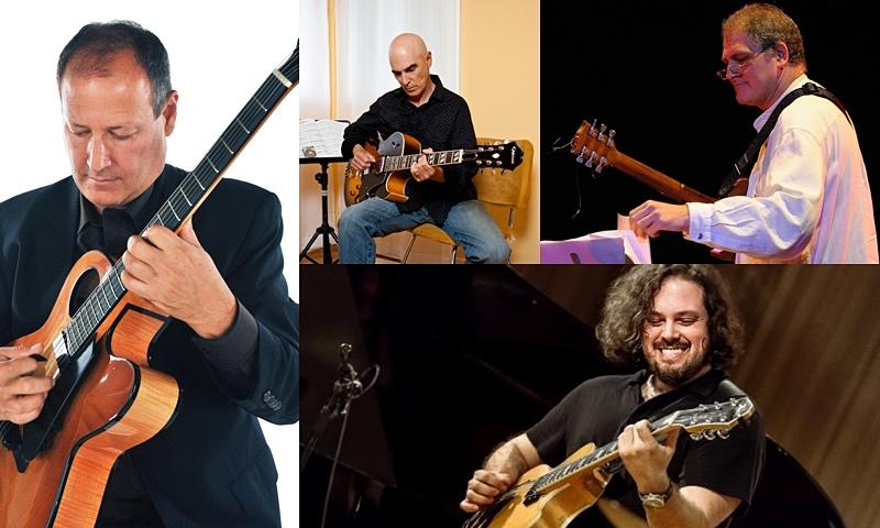 Mark Kleinhaut, Nat Janoff, Guillermo Bazzola, and Shan Arsenault