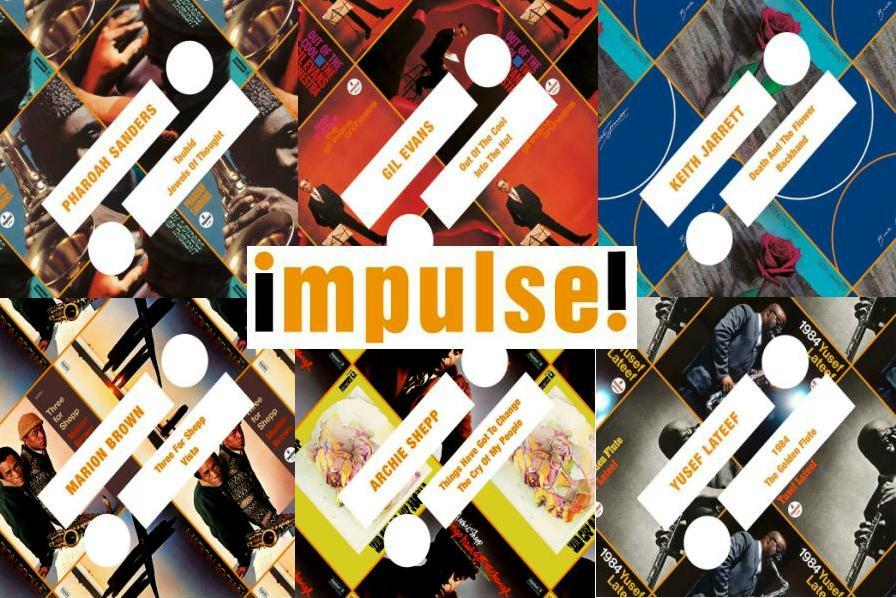 Arancio, nero e nostalgia: tempo di ristampe in casa Impulse!