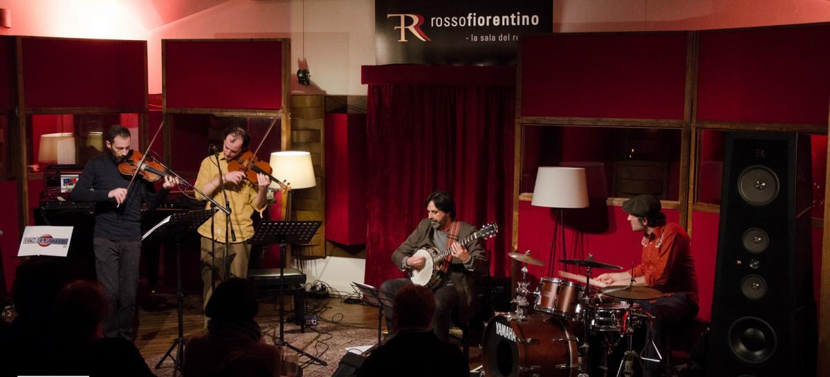 Leaping Fish Trio alla Sala del Rosso di Firenze