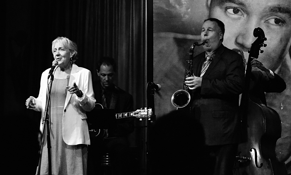 Rebecca Kilgore with the Harry Allen Quartet at the Jazz Showcase