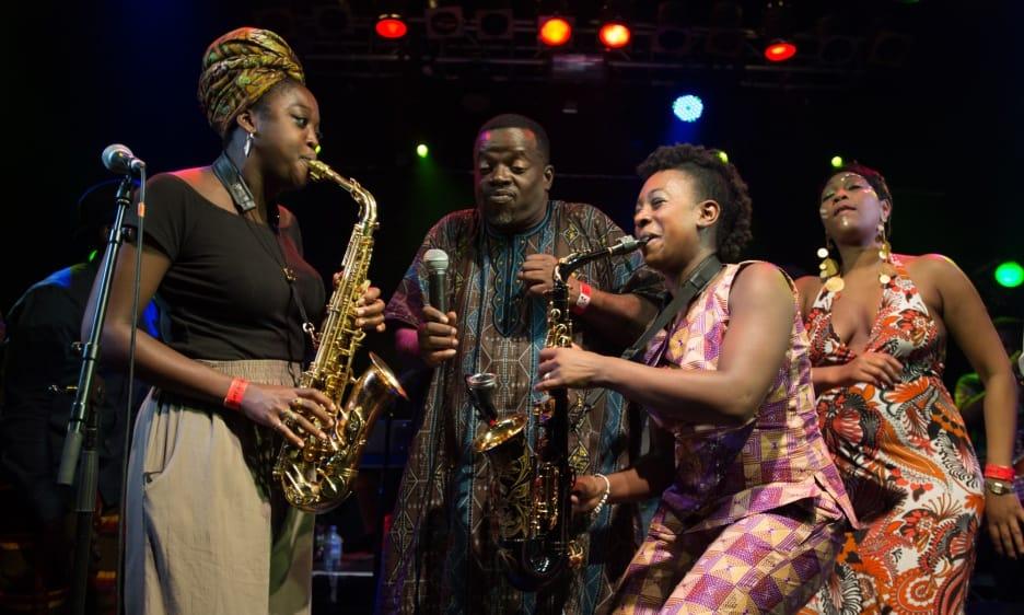 Dele Sosimi Afrobeat Orchestra at the Jazz Cafe