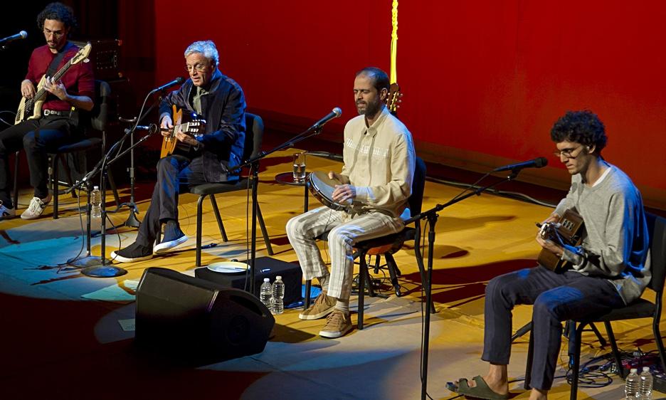 Caetano Veloso, James Carter, Hamza Akram, Eyal Vilner and David Grollman