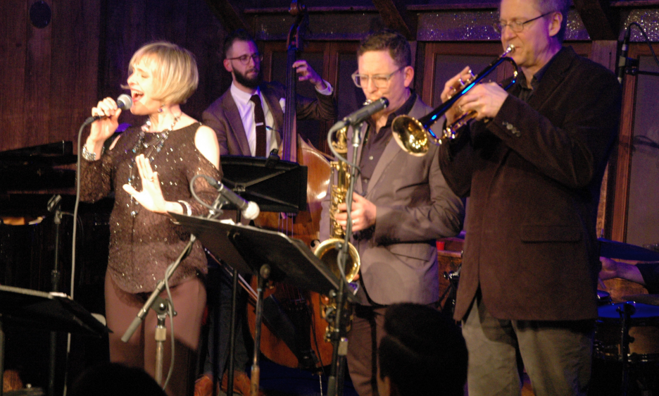Mary Ellen Desmond with the Victor North Quintet at Chris' Jazz Café