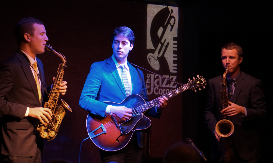 Peter And Will Anderson Trio At The Jazz Corner