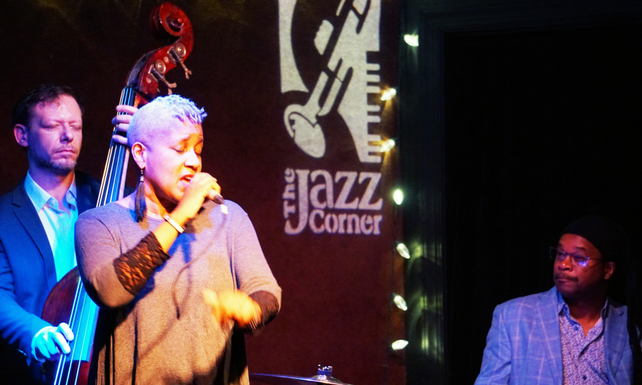 Rene Marie With Experiment In Truth At The Jazz Corner