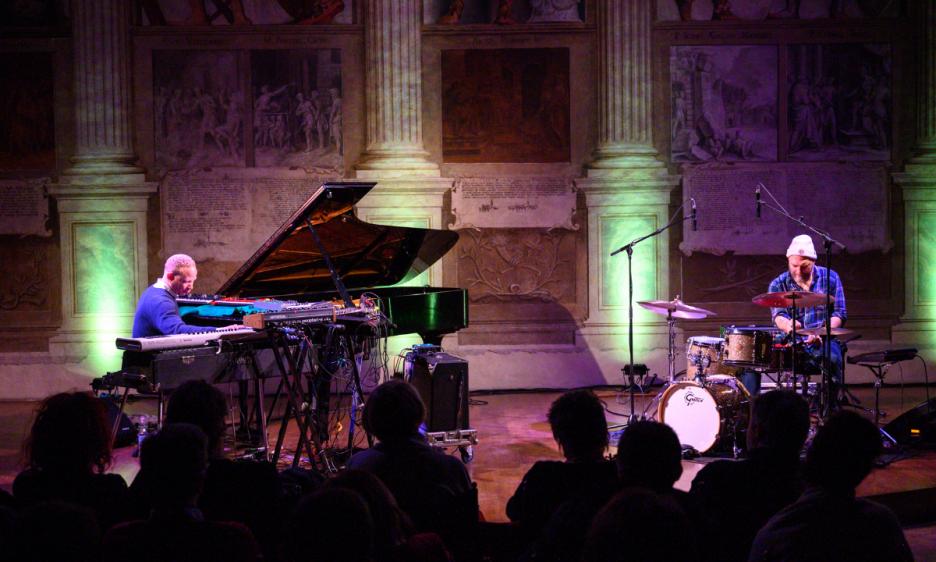 Craig Taborn e Dave King alla Sala dei Giganti di Padova
