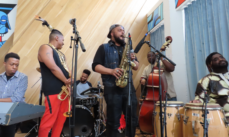 Christian Scott aTunde Adjuah at Bandcamp Record Store and Performance Space