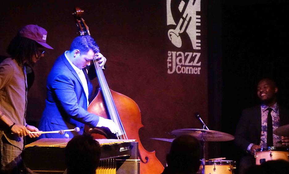 Justin Varnes & Ulysses Owens Jr at The Jazz Corner