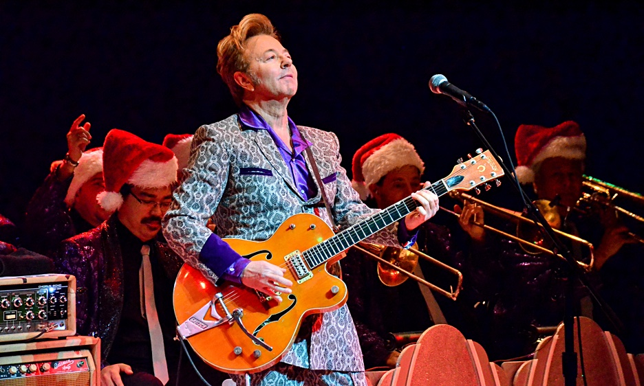 the brian setzer orchestra 15th anniversary christmas rocks tour at the nycb theatre at westbury. Black Bedroom Furniture Sets. Home Design Ideas