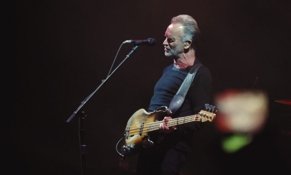 Sting at the City Stadium in Macedonia