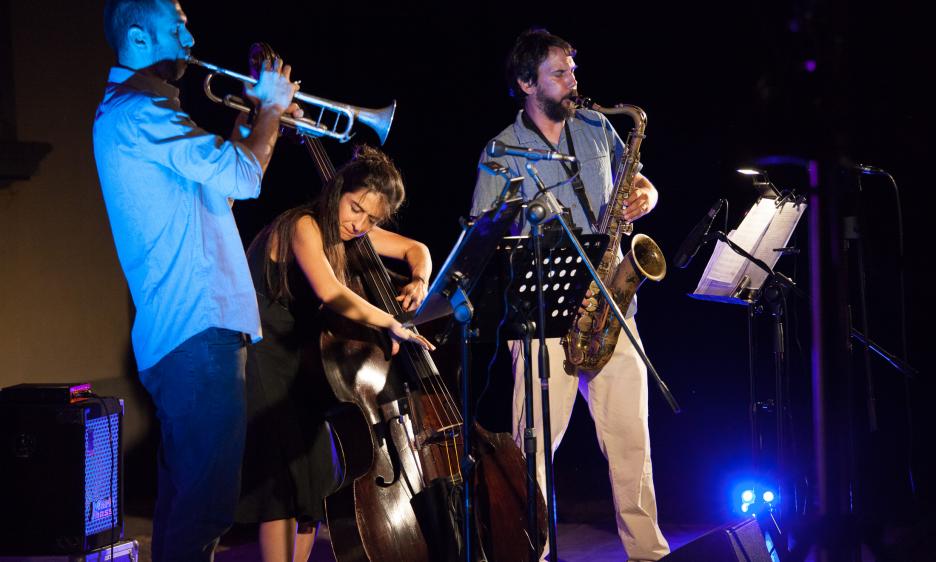 Federica Michisanti Trio a Valdarno Jazz Summer