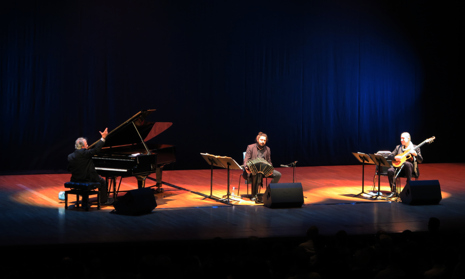 Pablo Ziegler Latin Jazz Trio at Sha Tin Town Hall