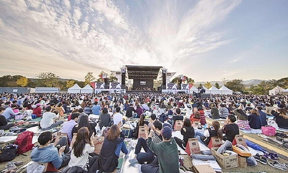 At A Korean Jazz Picnic, No Need To Know The Music