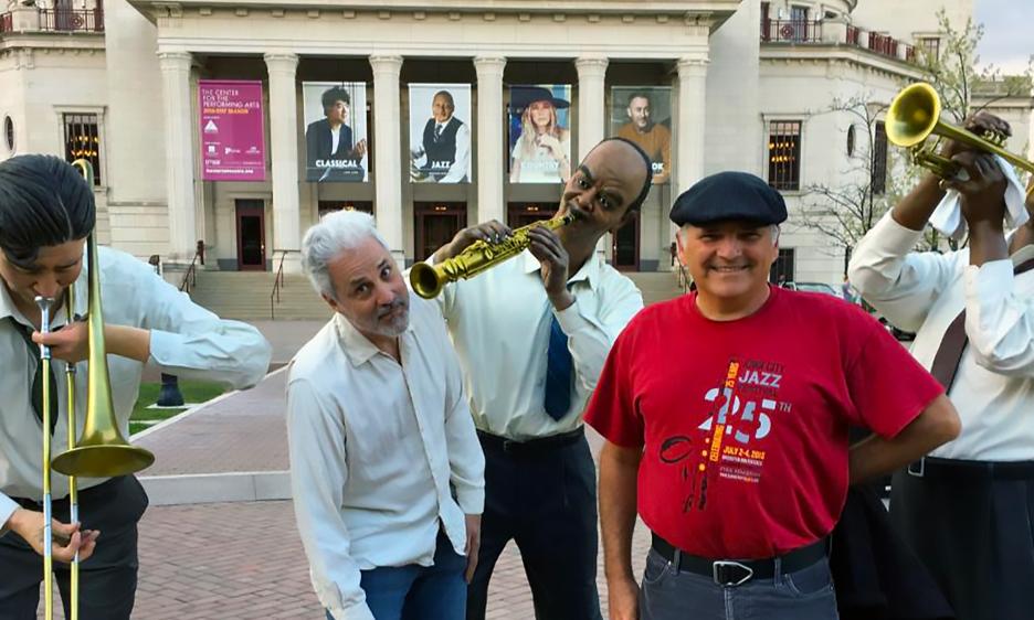 Meet BlueStem Jazz's Dave Stone & Thomas Ferrella