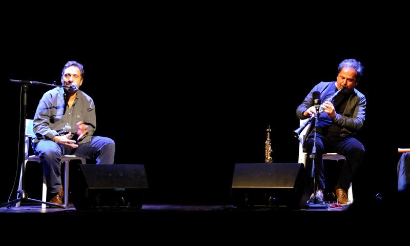 Enzo Favata e Mario Tozzi al Teatro della Compagnia di Firenze