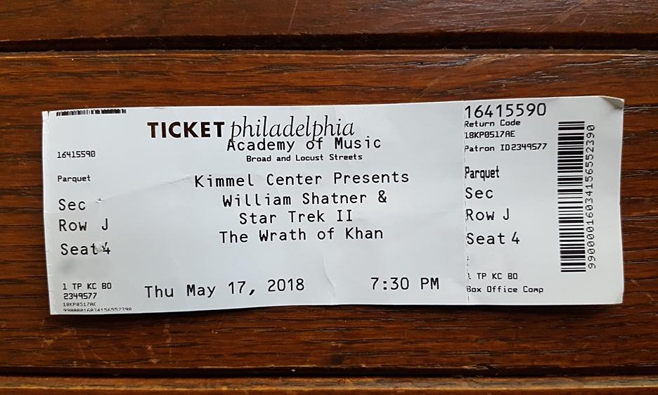 "Improvising Where No Man Has Gone Before: Encountering William Shatner, Star Trek, And ""The Wrath Of Khan"""