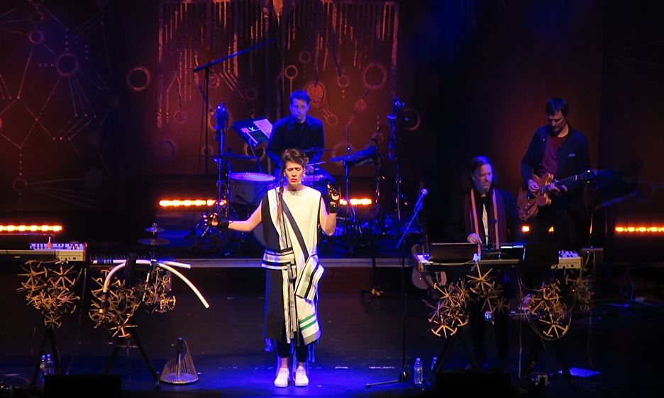 Imogen Heap with guy Sigsworth at Lincoln Theatre