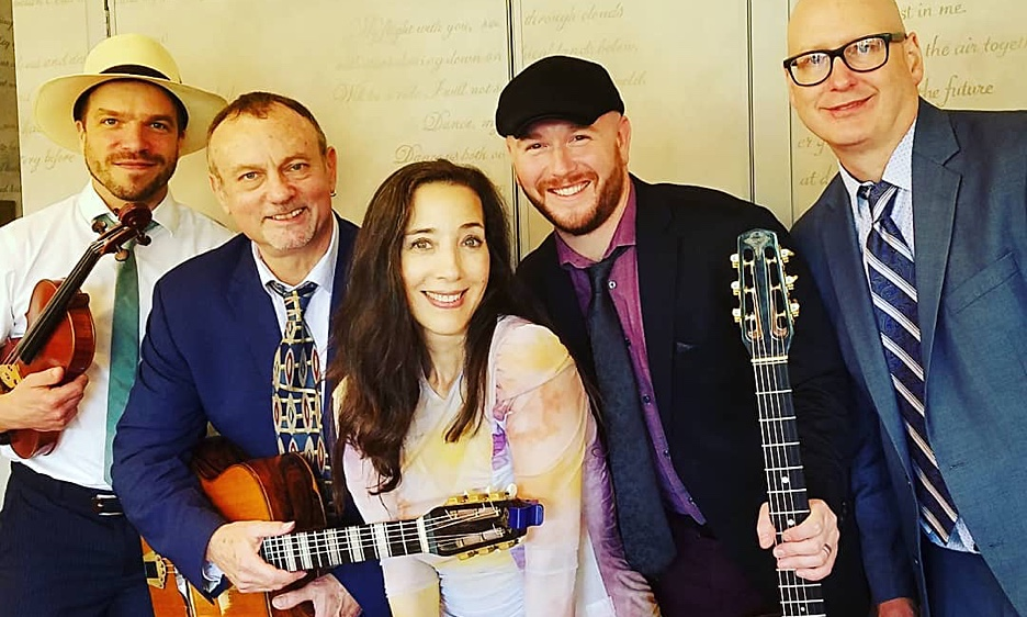 Gypsy Jazz meets Bluegrass: The Hot Club of Philadelphia double bill with The Cheddar Boys  at The Livingroom's new location