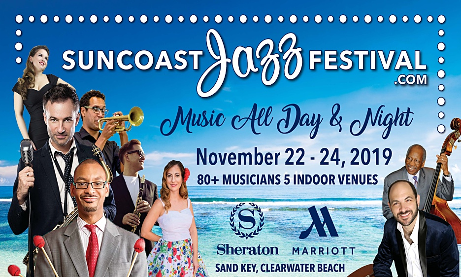 Musicians On The Suncoast Jazz Festival Roster Say They Are Looking Forward To Upcoming Performances At Three Day Event