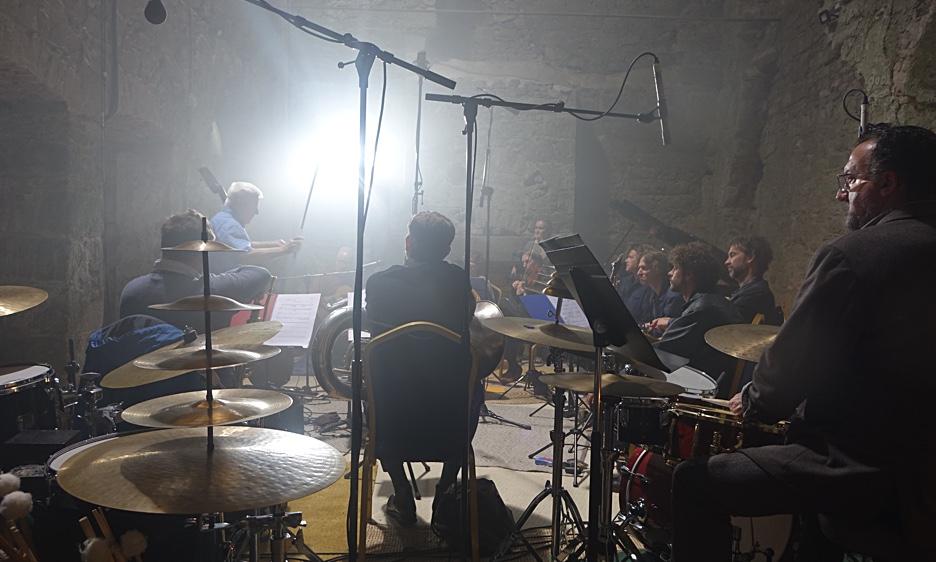 Barry Guy's Blue Shroud Band at Aghavannagh Barracks