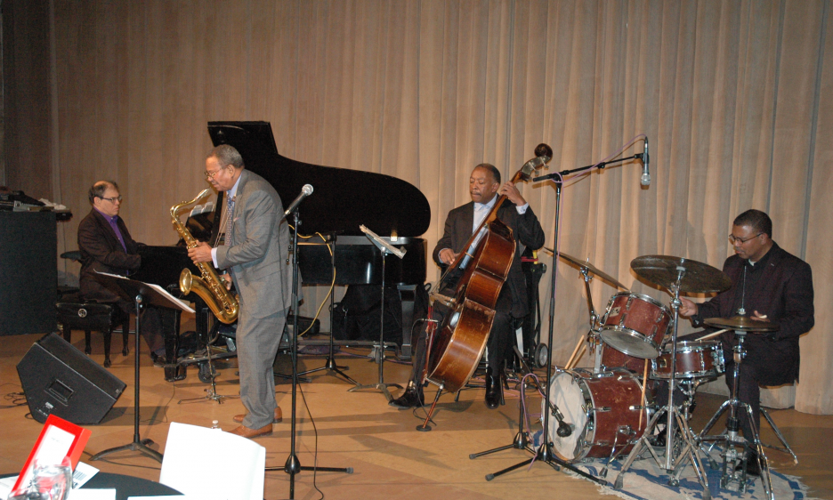 Odean Pope Quartet at the Philadelphia Museum of Art