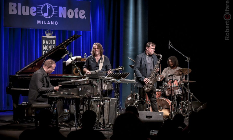 Chris Potter Circuits al Blue Note Milano