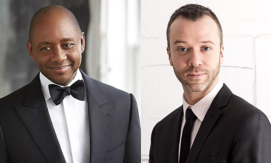 Branford Marsalis and Jean-Willy Kunz at the Kimmel Center