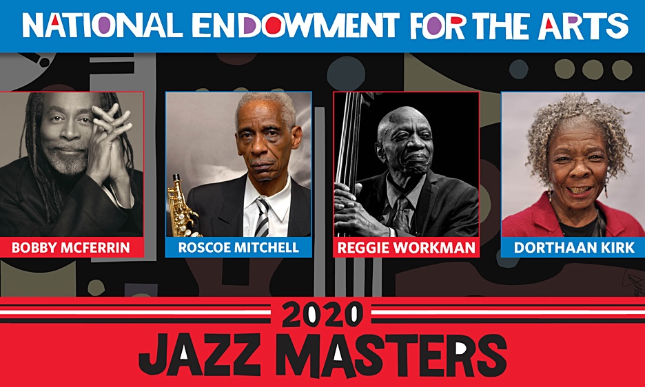 National Endowment for the Arts Announces 2020 NEA Jazz Masters