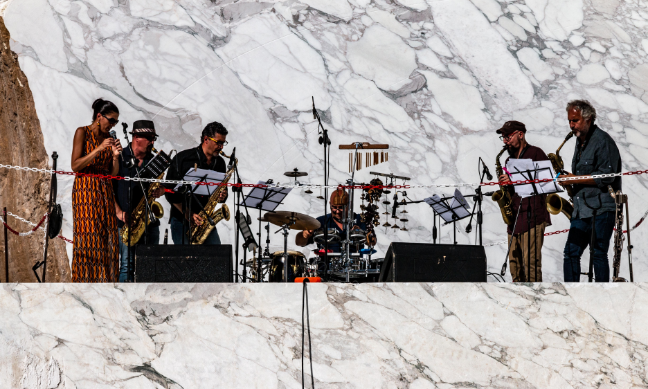 A Quarry Concert in Italy