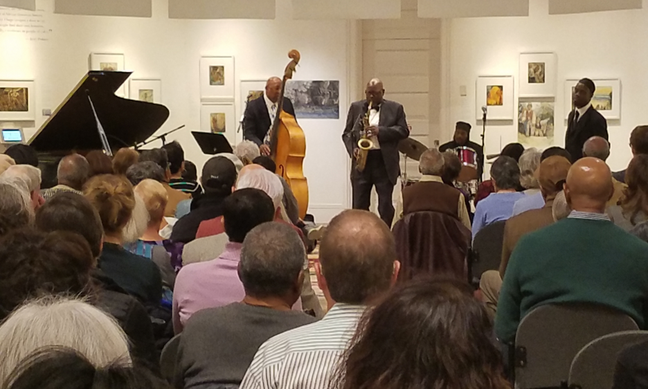 "Arpeggio Jazz Ensemble ""Bebop"" Concert at Woodmere Art Museum"