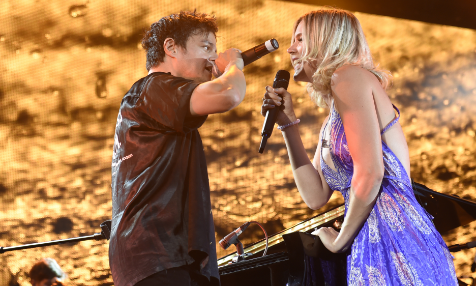 Jamie Cullum and Joss Stone at Stuttgart Jazz Open 2018