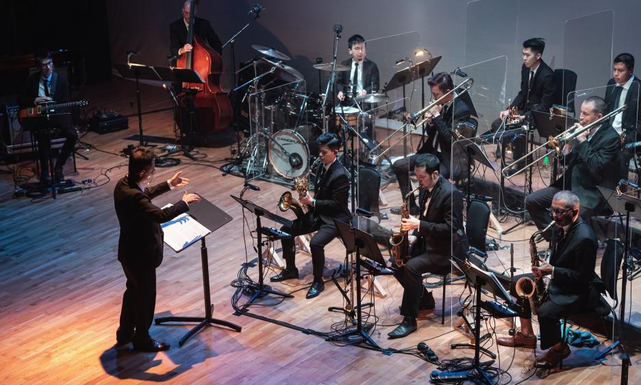 Patrick Lui Jazz Orchestra at Hong Kong City Hall