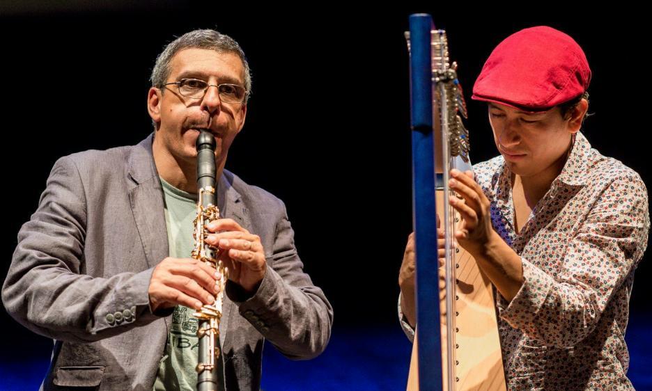 Gabriele Mirabassi e Edmar Castaneda al Conservatorio Cherubini di Firenze
