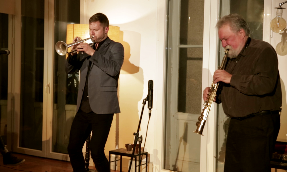 Provenance, Mal de mer, Duration: Evan Parker and Peter Evans at Solilóquios in Porto