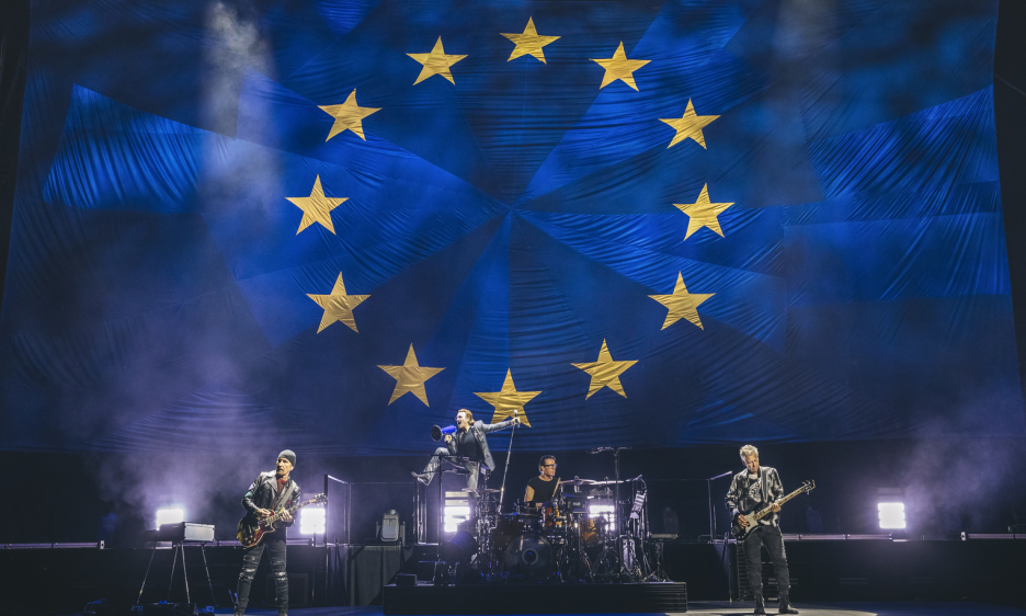 U2 at Mercedes-Benz Arena in Berlin