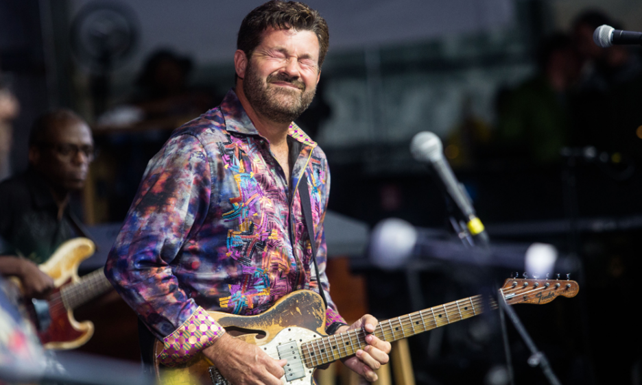 Tab Benoit at the Center for Humanities and Arts