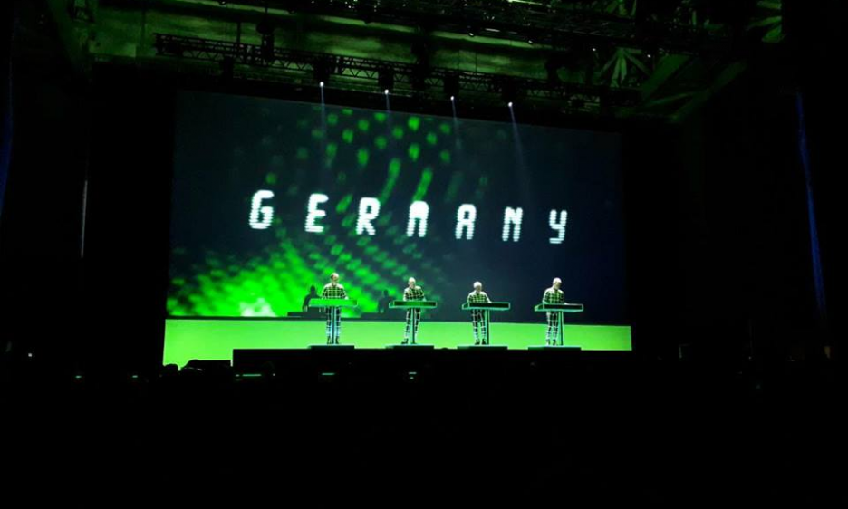 Kraftwerk's performance at Macedonia's Boris Trajkovski Hall