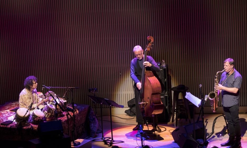 Zakir Hussain, Chris Potter and Dave Holland at SFJAZZ
