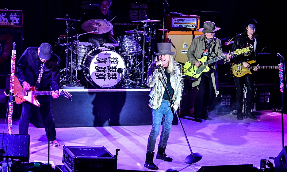 Cheap Trick with Aaron Lee Tasjan at The NYCB Theatre at Westbury