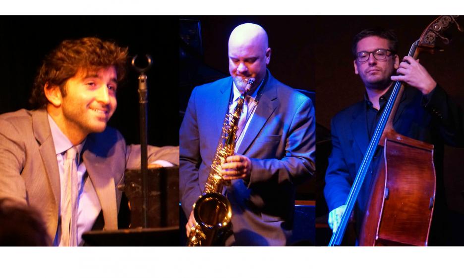 Joe Alterman Trio with John Sandfort at The Jazz Corner