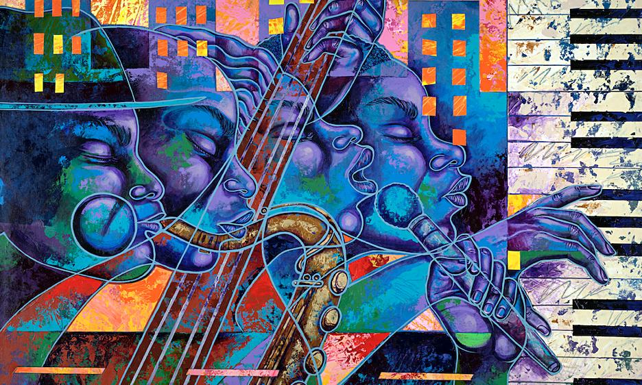 Keystone Korner Baltimore: Larry 'Poncho' Brown Ongoing Art Exhibit & Freda Payne November 12-14!