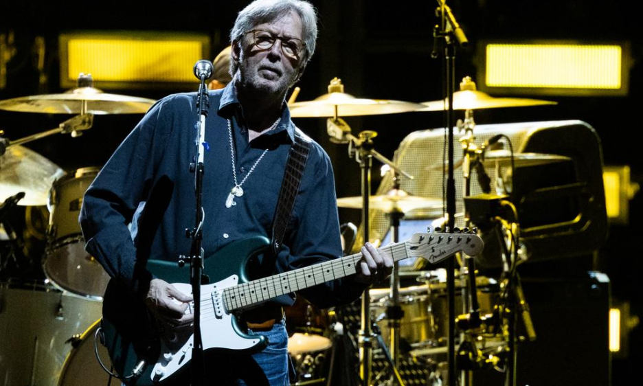 Eric Clapton at Wiener Stadthalle