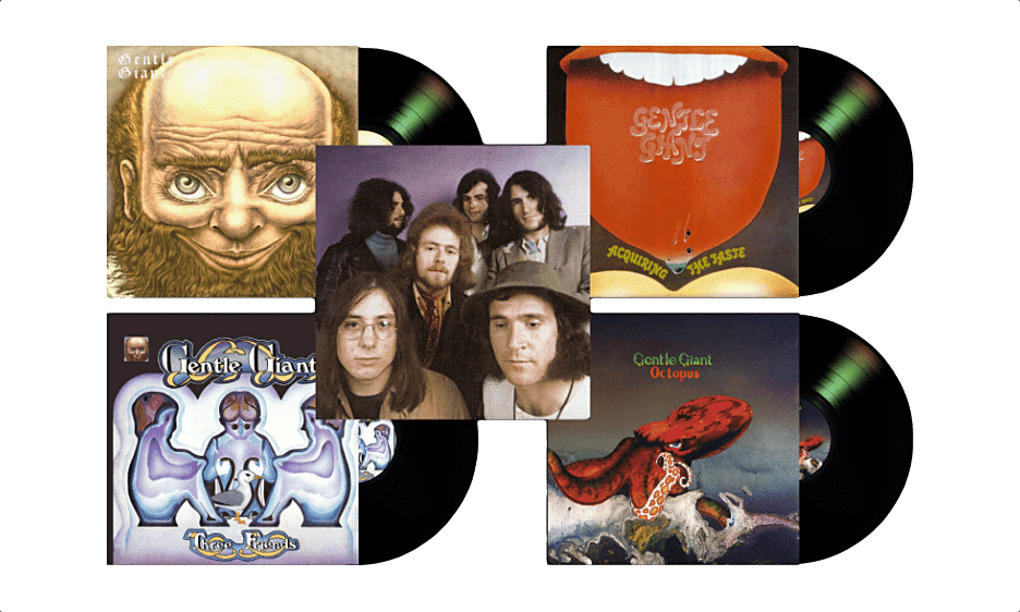 Prog Legends Gentle Giant To Release First 4 Albums On Vinyl April 3, 2020